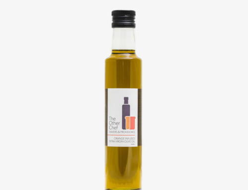 Orange Infused Extra Virgin Olive Oil