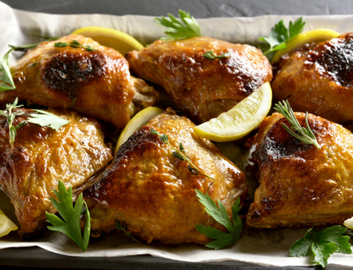 Recipe: Preserved Lemon Chicken Thighs