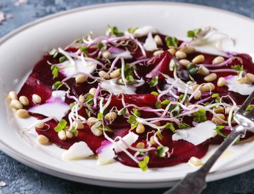 Recipe: Beetroot Carpaccio Salad with Orange Infused EVOO