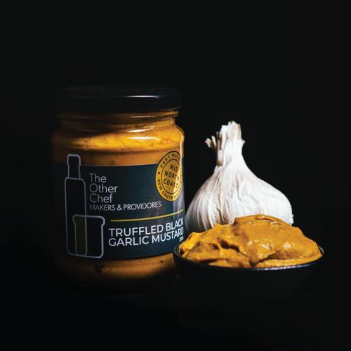 Truffled Black Garlic Mustard